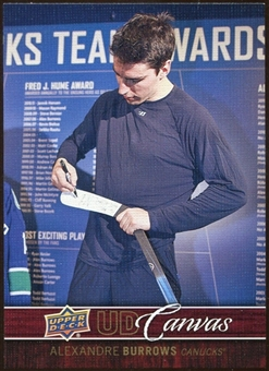 2012/13 Upper Deck Canvas #C83 Alexandre Burrows