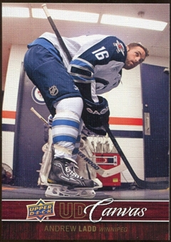 2012/13 Upper Deck Canvas #C87 Andrew Ladd