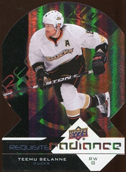 2012/13 Upper Deck Requisite Radiance #RR2 Teemu Selanne
