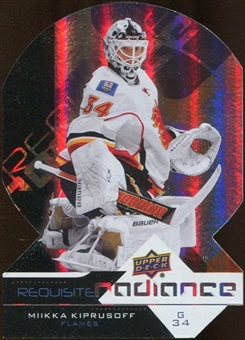 2012/13 Upper Deck Requisite Radiance #RR9 Miikka Kiprusoff