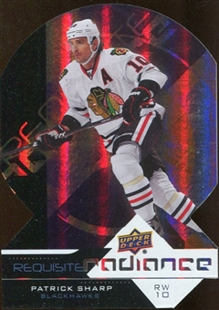 2012/13 Upper Deck Requisite Radiance #RR12 Patrick Sharp