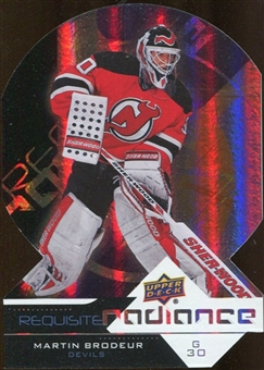 2012/13 Upper Deck Requisite Radiance #RR33 Martin Brodeur