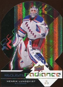 2012/13 Upper Deck Requisite Radiance #RR35 Henrik Lundqvist