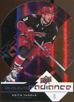 2012/13 Upper Deck Requisite Radiance #RR43 Keith Yandle