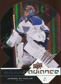 2012/13 Upper Deck Requisite Radiance #RR50 Jaroslav Halak