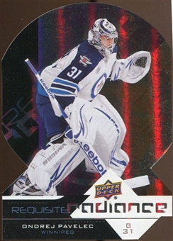 2012/13 Upper Deck Requisite Radiance #RR58 Ondrej Pavelec