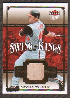 2007 Fleer Ultra Swing Kings Materials #AD Adam Dunn