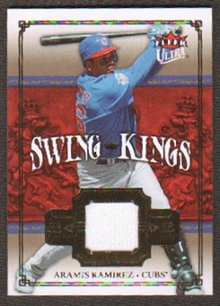 2007 Fleer Ultra Swing Kings Materials #AR Aramis Ramirez