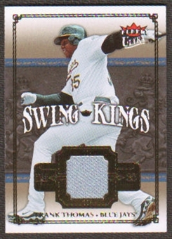 2007 Fleer Ultra Swing Kings Materials #FT Frank Thomas