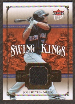 2007 Fleer Ultra Swing Kings Materials #JR Jose Reyes