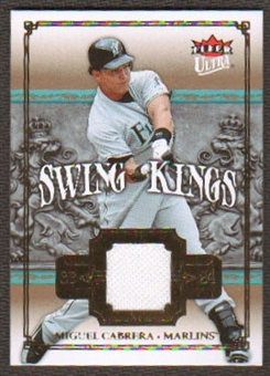 2007 Fleer Ultra Swing Kings Materials #MC Miguel Cabrera