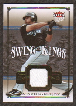 2007 Fleer Ultra Swing Kings Materials #VW Vernon Wells