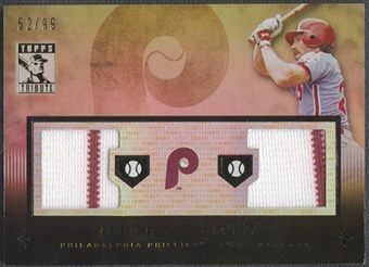 2010 Topps Tribute #MS Mike Schmidt Relics Dual Jersey #52/99