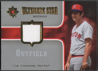 2007 Ultimate Collection #CY Carl Yastrzemski Ultimate Star Materials Jersey