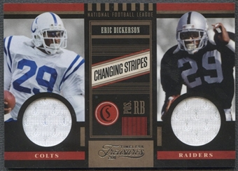 2011 Timeless Treasures #8 Eric Dickerson Changing Stripes Jersey #195/249