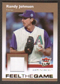 2007 Fleer Ultra Feel the Game Materials #RJ Randy Johnson