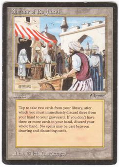 Magic the Gathering Arabian Nights Single Bazaar of Baghdad - MODERATE PLAY (MP)