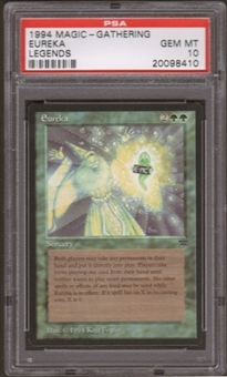 Magic the Gathering Legends Single Eureka PSA 10