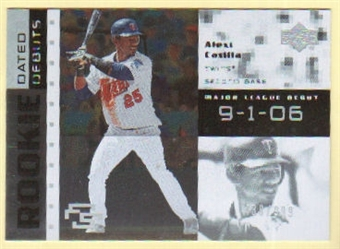 2007 Upper Deck Future Stars Rookie Dated Debut #AC Alexi Casilla /999