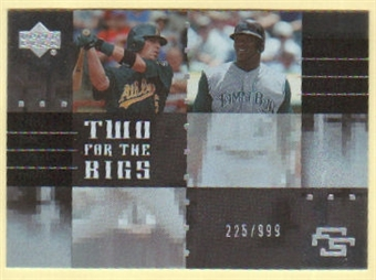 2007 Upper Deck Future Stars Two for the Bigs #BD Travis Buck/Elijah Dukes /999