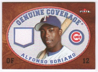 2007 Fleer Genuine Coverage #AS Alfonso Soriano