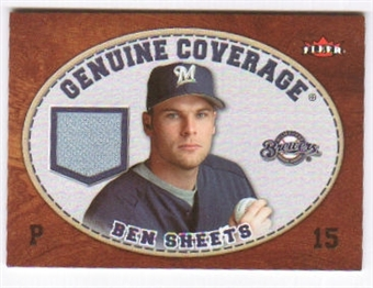 2007 Fleer Genuine Coverage #BS Ben Sheets