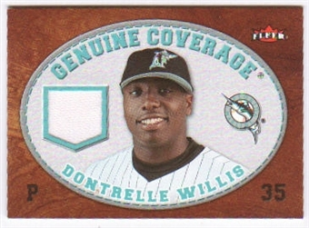 2007 Fleer Genuine Coverage #DW Dontrelle Willis