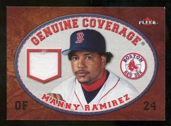 2007 Fleer Genuine Coverage #MR Manny Ramirez