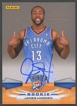 2009/10 Panini James Harden Rookie Next Day Signatures Auto SP