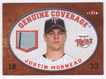 2007 Fleer Genuine Coverage #JM Justin Morneau