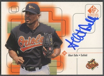 1999 SP Signature #AB Albert Belle Auto
