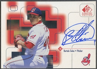 1999 SP Signature #BCO Bartolo Colon Auto