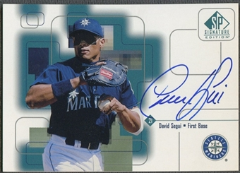 1999 SP Signature #DSE David Segui Auto