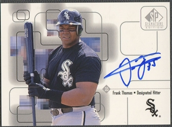 1999 SP Signature #FT Frank Thomas Auto