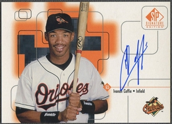 1999 SP Signature #IC Ivanon Coffie Auto