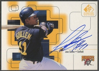 1999 SP Signature #JG Jose Guillen Auto