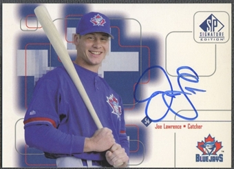 1999 SP Signature #JLA Joe Lawrence Auto
