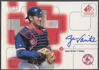 1999 SP Signature #JV Jason Varitek Auto