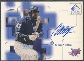 1999 SP Signature #MO Mo Vaughn Auto