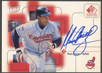 1999 SP Signature #MR Manny Ramirez Auto