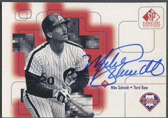 1999 SP Signature #MS Mike Schmidt Auto