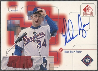 1999 SP Signature #NR Nolan Ryan Auto
