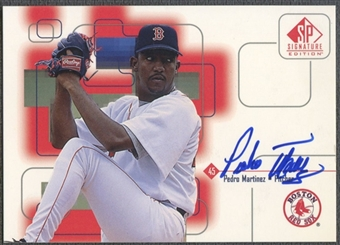 1999 SP Signature #PM Pedro Martinez Auto