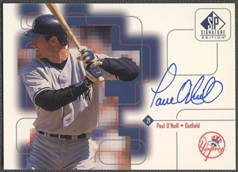 1999 SP Signature #PO Paul O'Neill Auto