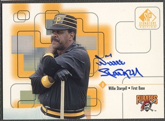 1999 SP Signature #POP Willie Stargell Auto