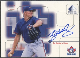 1999 SP Signature #RH Roy Halladay Auto