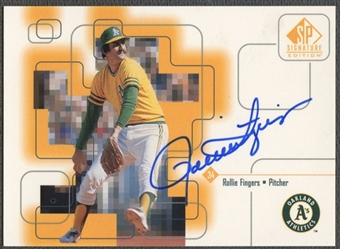 1999 SP Signature #ROL Rollie Fingers Auto
