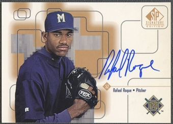 1999 SP Signature #RR Rafael Roque Auto