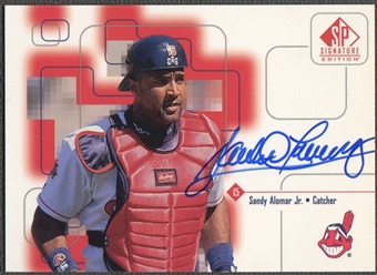 1999 SP Signature #SA Sandy Alomar Jr. Auto