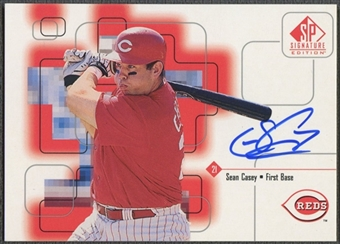1999 SP Signature #SC Sean Casey Auto